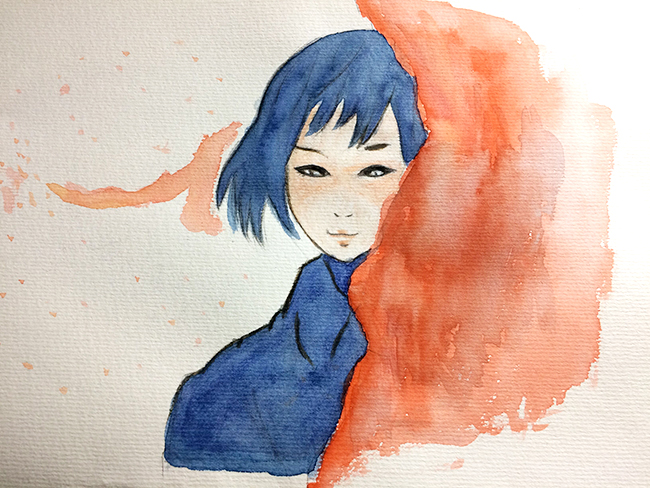 study painting